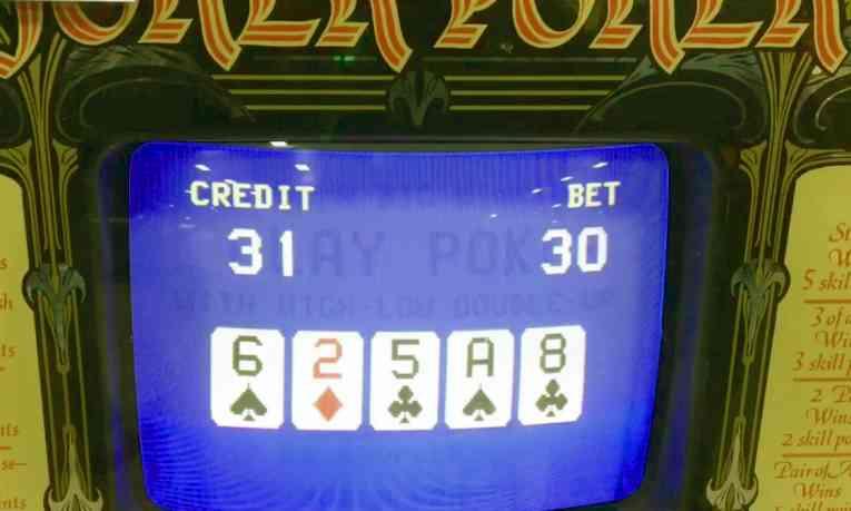 Joker Poker machine